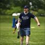 Spotter Jason Lenicheck makes a call