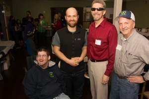 The event was hosted by Waypoint adventures.  Pictured in red is Randy Pierce and one of the owners of Wayside, Adam Combs (to Randy's left in the vest).