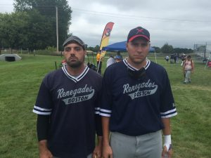 Rob Dias and Shawn Devenish had big games...BUT were not happy with the result and the loss of Joe McCormick