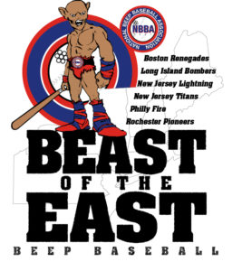 see the Renegades play LIVE - This is the Beast of the East logo with all the 6 teams listed on it