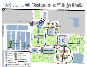Village Park field map