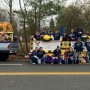 Photo of the Renegades marching in the 2012 Lion's Halloween parade