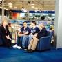 In the Fox Studio, Bob Ward interviews Wrong Way, Rob and Jack