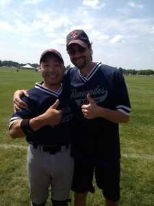 Joe Yee came off the bench to score a pair and Weissman made some great coaching decisions for the Renegades