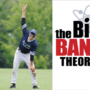 Picture of Aqil Sajaad in the field with text from the show Big Bang Theory
