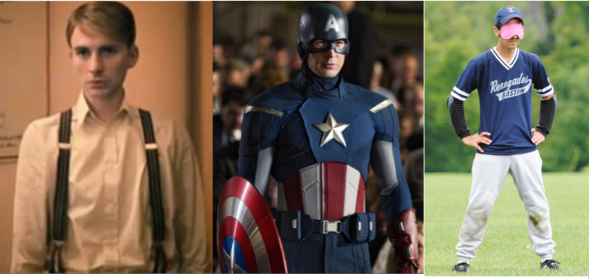 photos of Captain America and Guy Zuccarello