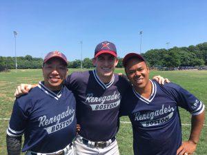 Joe Yee, Christian Thaxton and Joey Buizon
