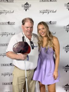 Rob Thayer with Camille Kostek