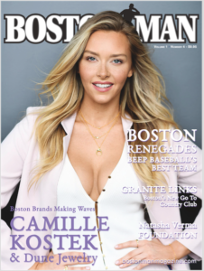 Cover of BostonMan Magazine with the Renegades mentioned on the cover